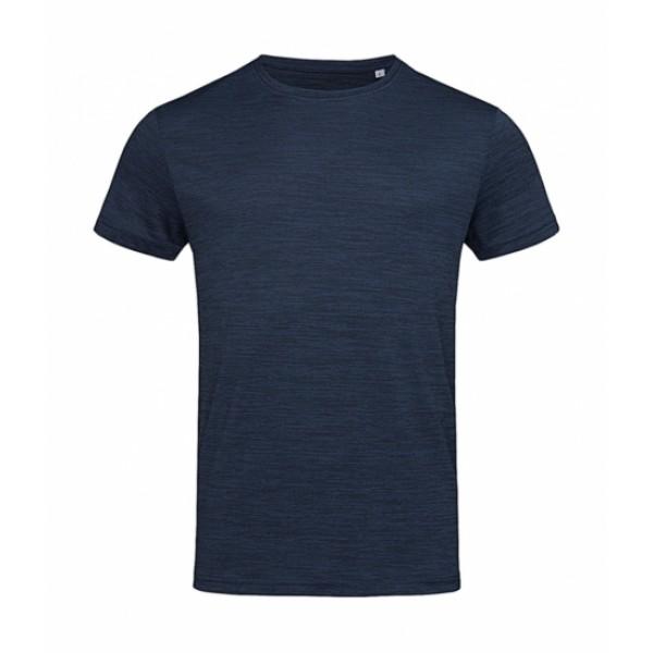 T-shirts - Ανδρικό Active Intense Tech T-shirt Stedman, ST8020 μπλε marina heather nolimit.gr