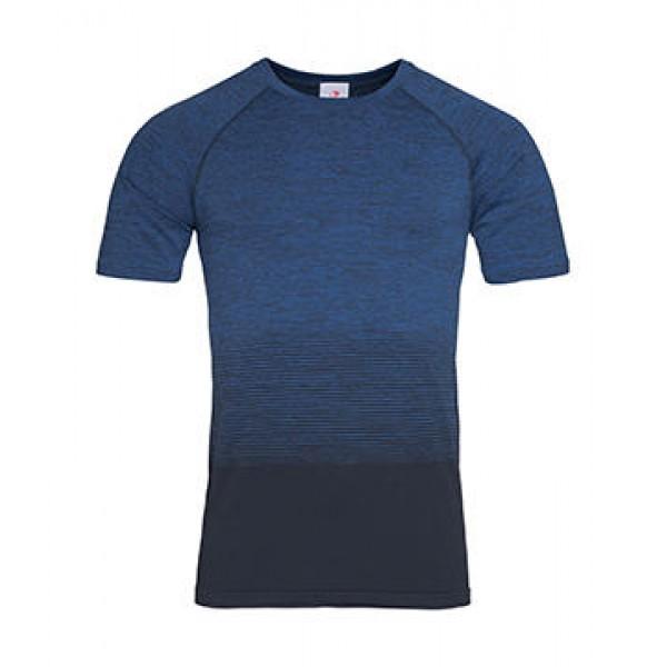 Αθλητικό T-Shirt Χωρίς Ραφές Stedman, ST8810 μπλε transition Μπλούζες Ενδυση Εργασιας - nolimit.gr