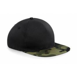 Ενδυση Εργασιας - Καπέλο Beechfield, CAMO SNAPBACK B691 μαύρο/jungle camo Καπέλα - Σκούφοι Ενδυση Εργασιας - nolimit.gr