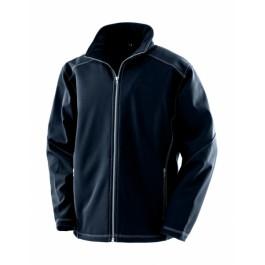 Ανδρικό Μπουφάν Softshell Treble Stitch Result Work-Guard, R455M μπλε Σακάκια - Μπουφάν Ενδυση Εργασιας - nolimit.gr