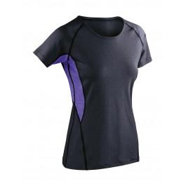 Γυναικείο μπλουζάκι Fitness Tech Panel Marl Spiro, S270F Μπλούζες Ενδυση Εργασιας - nolimit.gr