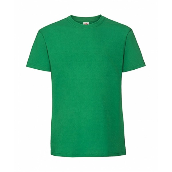 T-shirts - Ringspun Premium T Fruit Of The Loom, 61-422-0 πράσινο kelly nolimit.gr