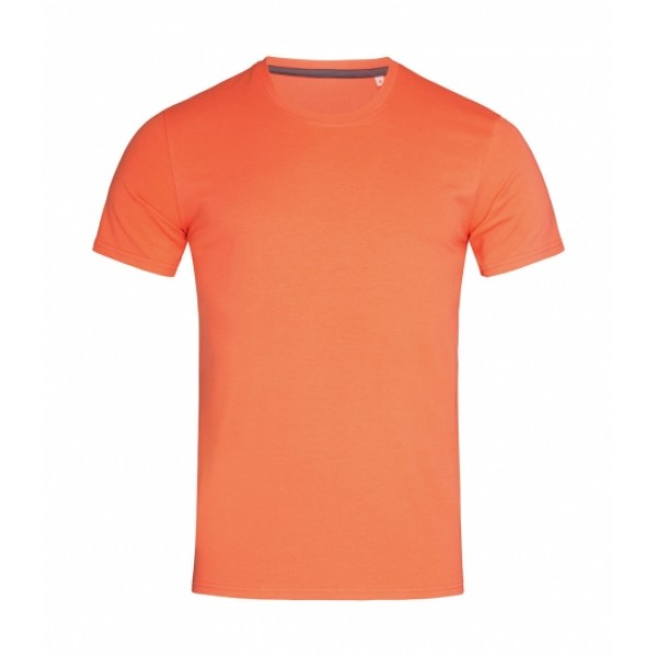 Ανδρικό Clive Crew Neck Stedman, ST9600 πορτοκαλί salmon T-Shirts Ενδυση Εργασιας - nolimit.gr
