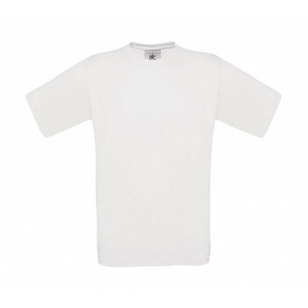 Ενδυση Εργασιας - Ανδρικό Μπλουζάκι B&C, EXACT 150 λευκό T-Shirts Ενδυση Εργασιας - nolimit.gr