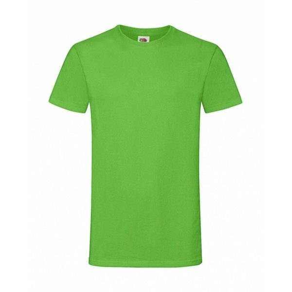 T-shirts - Ανδρικό Sofspun® T-Shirt Fruit Of The Loom, 61-412-0 πράσινο lime nolimit.gr
