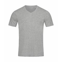 T-shirts - t-shirts - Ανδρικό Dean Deep V-neck Stedman, ST9690 γκρι heather nolimit.gr
