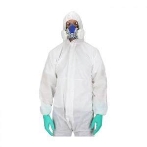 Ολόσωμη Φόρμα Προστασίας Ιατρών Νοσηλευτών Πολλαπλών Χρήσεων Από Μη Υφασμένο Υλικό, NL205 Ολόσωμες Ενδυση Εργασιας - nolimit.gr