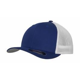 Ενδυση Εργασιας - Καπέλο Flexfit, MESH TRUCKER 2-TONE 6511T λευκό/μπλε royal Καπέλα - Σκούφοι Ενδυση Εργασιας - nolimit.gr