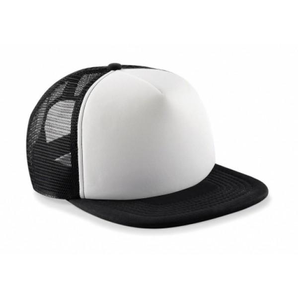 σκουφοι - καπελα - Ενδυση Εργασιας - Καπέλο Παιδικό Beechfield, JUNIOR VINTAGE SNAPBACK TRUCKER B645b Καπέλα - Σκούφοι Ενδυση Εργασιας - nolimit.gr