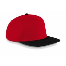 Ενδυση Εργασιας - Καπέλο Beechfield, ORIGINAL FLAT PEAK SNAPBACK B660 Καπέλα - Σκούφοι Ενδυση Εργασιας - nolimit.gr