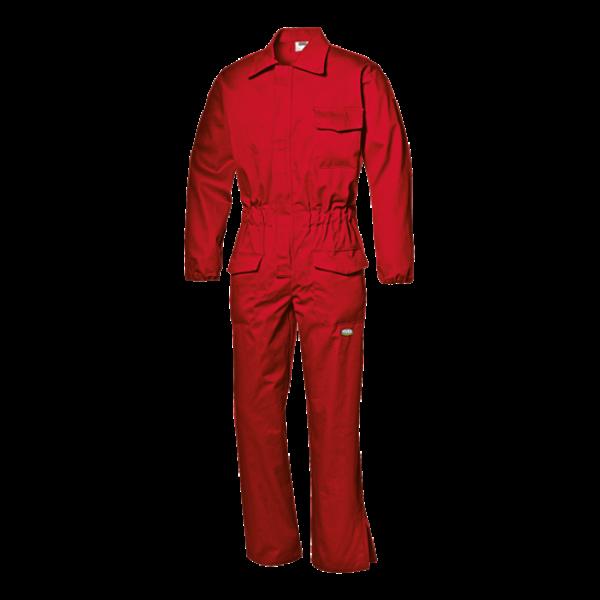 Φόρμα Ολόσωμη Βραδύκαυστη 11612 EN 11611, 33271R κόκκινη Multirisk Ενδυση Εργασιας - nolimit.gr