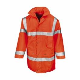 Ενδυση Εργασιας - Μπουφάν Ασφαλείας Hi-Viz Result Safe-Guard, R018X πορτοκαλί φθορίζον Σακάκια - Μπουφάν Ενδυση Εργασιας - nolimit.gr
