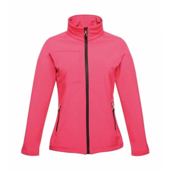 Γυναικείο Μπουφάν Girly II Softshell, TRA689 hot pink Ενδυση Εργασιας - nolimit.gr