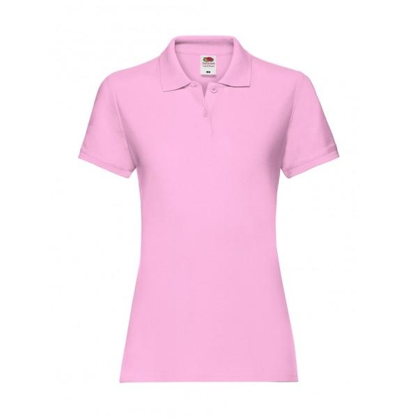 Γυναικείο Premium Πόλο Fruit Of The Loom, 63-030-0 ροζ light pink Ενδυση Εργασιας - nolimit.gr