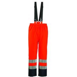 Ενδυση Εργασιας - Παντελόνι Αδιάβροχο Από PU Coverguard, HARBOR πορτοκαλί/μπλε navy Παντελόνια Ενδυση Εργασιας - nolimit.gr