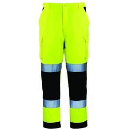 Ενδυση Εργασιας - Παντελόνι Hi-Viz Coverguard, PATROL κίτρινο/μπλε navy Παντελόνια Ενδυση Εργασιας - nolimit.gr