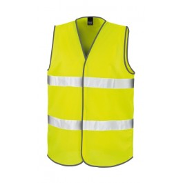 Ενδυση Εργασιας - Γιλέκο Ασφαλείας Hi-Viz Result Safe-Guard, Core Motorist R200X κίτρινο φθορίζον Υψηλής Ορατότητας Ενδυση Εργασιας - nolimit.gr