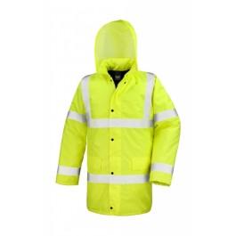 Ενδυση Εργασιας - Μπουφάν Core Hi-Viz Motorway Result Safe-Guard, R218X κίτρινο φθορίζον Σακάκια - Μπουφάν Ενδυση Εργασιας - nolimit.gr