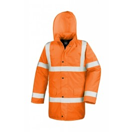 Ενδυση Εργασιας - Μπουφάν Core Hi-Viz Motorway Result Safe-Guard, R218X πορτοκαλί φθορίζον Σακάκια - Μπουφάν Ενδυση Εργασιας - nolimit.gr
