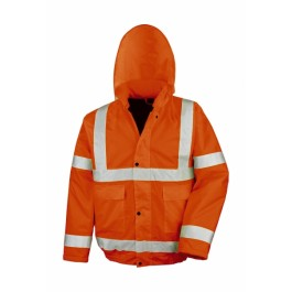 Ενδυση Εργασιας - Μπουφάν Core Hi-Viz Blouson Result Safe-Guard, R217X πορτοκαλί φθορίζον Σακάκια - Μπουφάν Ενδυση Εργασιας - nolimit.gr