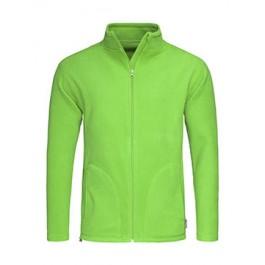 Μπουφαν - Ανδρικό Μπουφάν Fleece Active Stedman, ST5030, πράσινο kiwi Σακάκια - Μπουφάν nolimit.gr