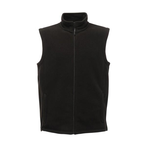 Ενδυση Εργασιας - Γιλέκο Ανδρικό Micro Fleece Regatta Professional, BODYWARMER TRA801 μαύρο Σακάκια - Μπουφάν Ενδυση Εργασιας - nolimit.gr