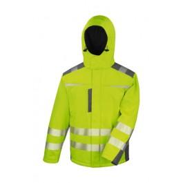 Ενδυση Εργασιας - Μπουφάν Result Safe-Guard, DYNAMIC SOFTSHELL R331X κίτρινο φθορίζον Σακάκια - Μπουφάν Ενδυση Εργασιας - nolimit.gr