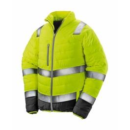 Ενδυση Εργασιας - Μπουφάν Ασφαλείας Hi-Viz Result Safe-Guard, SOFT PADDED R325M κίτρινο φθορίζον Σακάκια - Μπουφάν Ενδυση Εργασιας - nolimit.gr