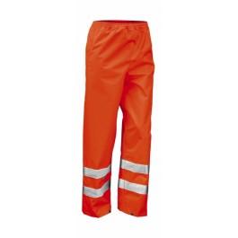 Ενδυση Εργασιας - Αδιάβροχο Παντελόνι Result Safe-Guard, R022X πορτοκαλί φθορίζον Παντελόνια Ενδυση Εργασιας - nolimit.gr