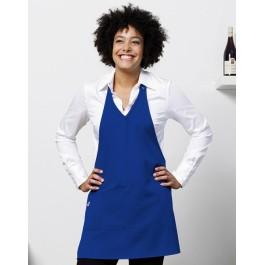 Ποδιά Μάγειρα Γυναικεία Bistro by Jassz, BERN JG23 μπλε royal Ποδιές Ενδυση Εργασιας - nolimit.gr