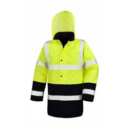 Μπουφάν Υψηλής Ορατότητας Motorway 2-Tone, R452X κίτρινο φθορίζον Σακάκια - Μπουφάν Ενδυση Εργασιας - nolimit.gr