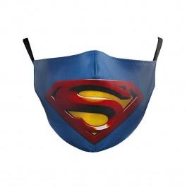 υφασματινη μασκα - προστασια COVID-19 - Υφασμάτινη Μάσκα Πολλαπλών Χρήσεων 2ply, Superman NL405 ΠΡΟΣΤΑΣΙΑ COVID-19 Ενδυση Εργασιας - nolimit.gr