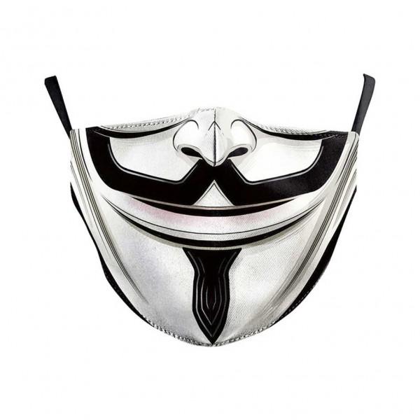 Υφασμάτινη Μάσκα Πολλαπλών Χρήσεων 2ply, Vendetta NL409 Ενηλίκων Ενδυση Εργασιας - nolimit.gr