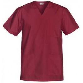 Ιατρών Νοσηλευτών Αισθητικών Μπλούζα Unisex, μπορντώ Ιατρικές - Εργαστηρίου Ενδυση Εργασιας - nolimit.gr