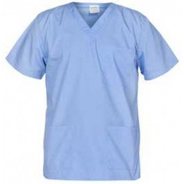 Ιατρών Νοσηλευτών Αισθητικών Μπλούζα Unisex, γαλάζιο Ιατρικές - Εργαστηρίου Ενδυση Εργασιας - nolimit.gr