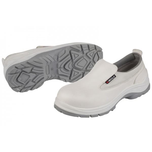 Υγειονομικά Παπούτσια ASTRAL S2 Λευκά - Μαύρα Ενδυση Εργασιας - nolimit.gr