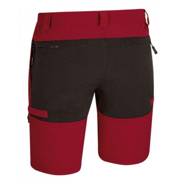 βερμουδες - Αθλητική Trekking Casual Βερμούδα Σόρτς Que No Limit, 511.162 Κόκκινη Βερμούδες - Σορτς Ενδυση Εργασιας - nolimit.gr