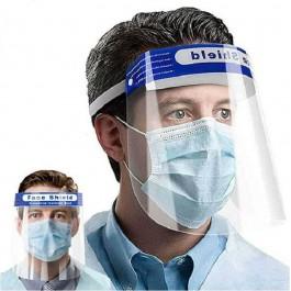 προστασια COVID-19 - Μασκες Προστασιας - Ασπίδιο Προστασίας Προσώπου Αντιθαμβωτικό PET HD, NL013 Μάσκες Υγιεινής Ενδυση Εργασιας - nolimit.gr