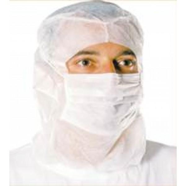 προστασια COVID-19 - Κάλυμμα Σκούφος Προστασίας Κεφαλής Με Ενσωματωμένη Μάσκα Μίας Χρήσης, NL130 Καλύμματα Κεφαλής Ενδυση Εργασιας - nolimit.gr