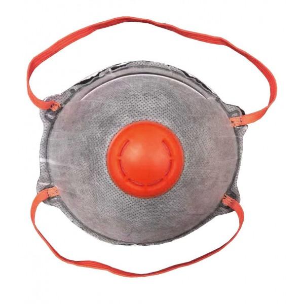Μάσκα Προστασίας Αναπνοής FFP3 NR Ενεργού Άνθρακα Με Βαλβίδα Εκπνοής, NL170 Μάσκες Ενδυση Εργασιας - nolimit.gr